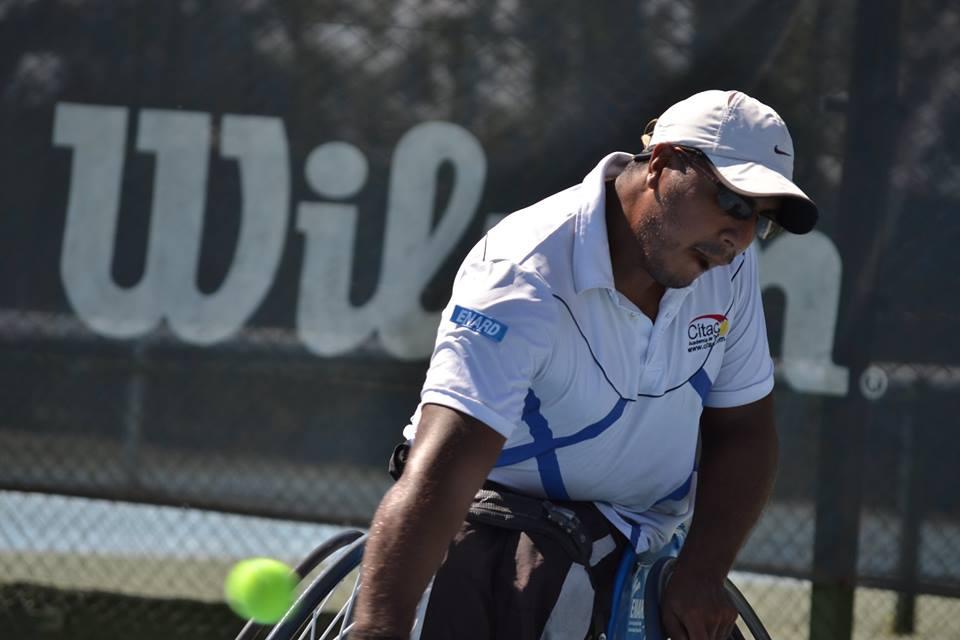 Tenis adaptado: semifinales de lujo en Vicente López