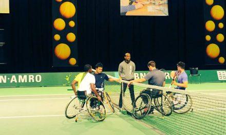 Tenis adaptado: debut con triunfo para Fernández en Rotterdam