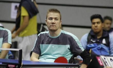 Tenis de mesa adaptado: Eberhardt, primer puesto en Equipos en Italia