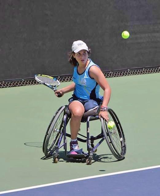 Tenis adaptado: Antonella Pralong suma rodaje en Francia