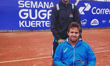 Tenis adaptado: Palacio sigue en carrera en Baton Rouge
