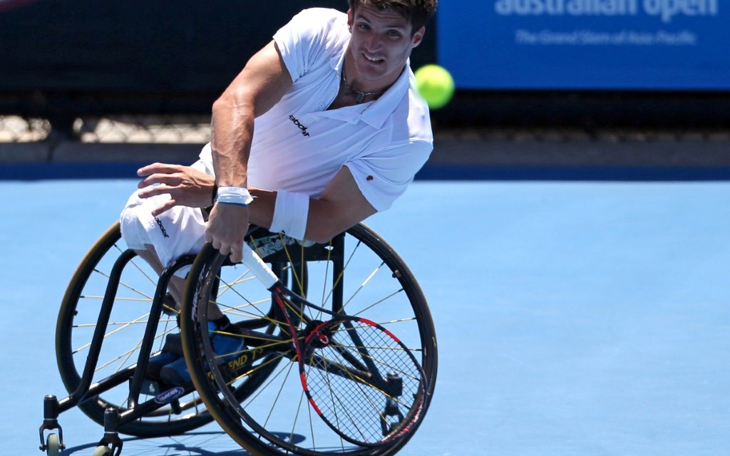 Tenis adaptado: buen arranque para Gustavo Fernández en Japón