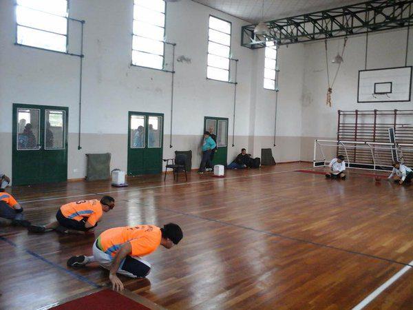 El goalball estará presente en los Juegos Evita