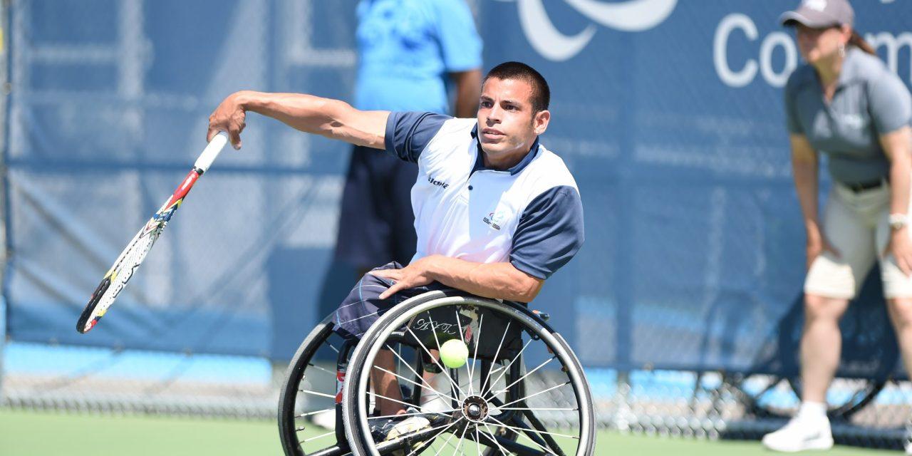 """Tenis adaptado   Ezequiel Casco: """"El Open Cañuelas me agarra en un momento espectacular"""""""