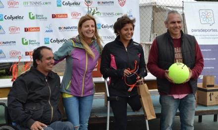 Tenis adaptado: Antonella Pralong, doble campeona en el Open Cañuelas