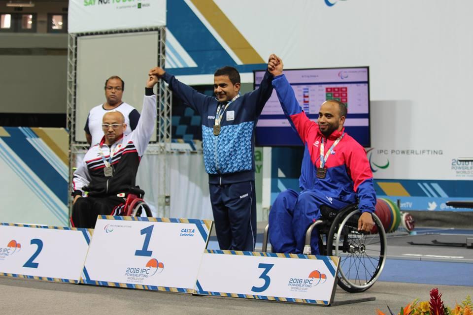 Pesas: Coronel irá a su segundo Juego Paralímpico