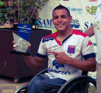 Tenis adaptado: Casco, campeón en Brasil