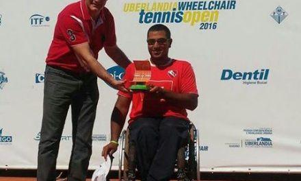 Tenis adaptado: Ledesma, también campeón del singles