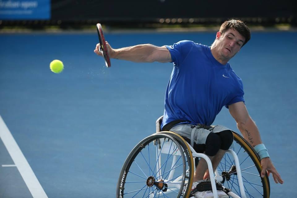 Tenis adaptado: Gustavo Fernández avanza en el dobles de Japón