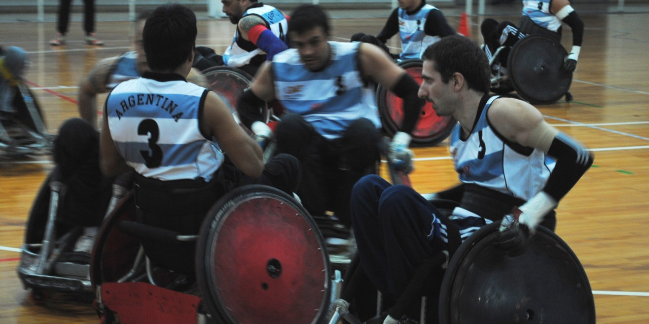 QuadRugby: Mauro Castro no pudo evitar el bautismo