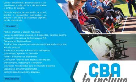 Córdoba lanza una capacitación de deporte adaptado