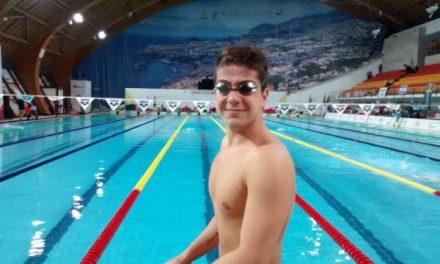 Natación adaptada: Arregui y una notable actuación en Portugal