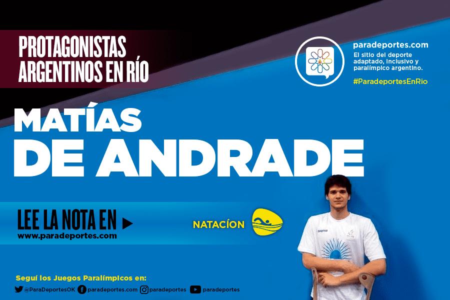 """De Andrade: """"maduré como deportista"""""""