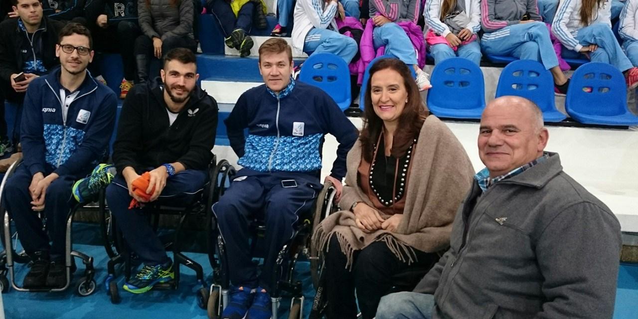 Michetti despedirá a los atletas paralímpicos antes de Río 2016