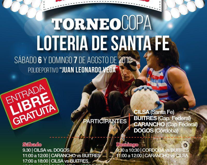 Quad rugby: Se viene la Copa Lotería Santa Fe