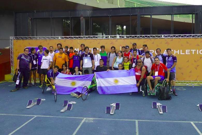 Atletismo adaptado: Campeonato Argentino en Pergamino