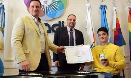Tenis adaptado: Gustavo Fernández, nuevo embajador del INADI