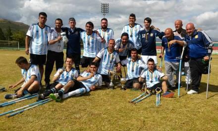 Fútbol para amputados: Argentina, subcampeón de la Copa Confederaciones