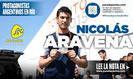 """Aravena: """"Río va a ser un foco muy grande para mi carrera"""""""