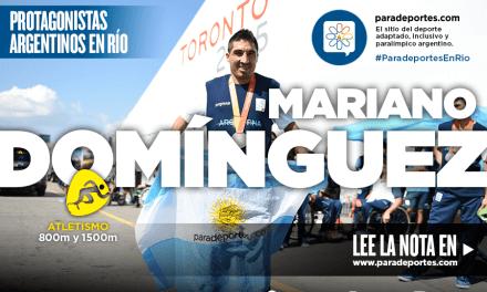 """Domínguez: """"Mi objetivo era estar en los Juegos y ya lo cumplí"""""""