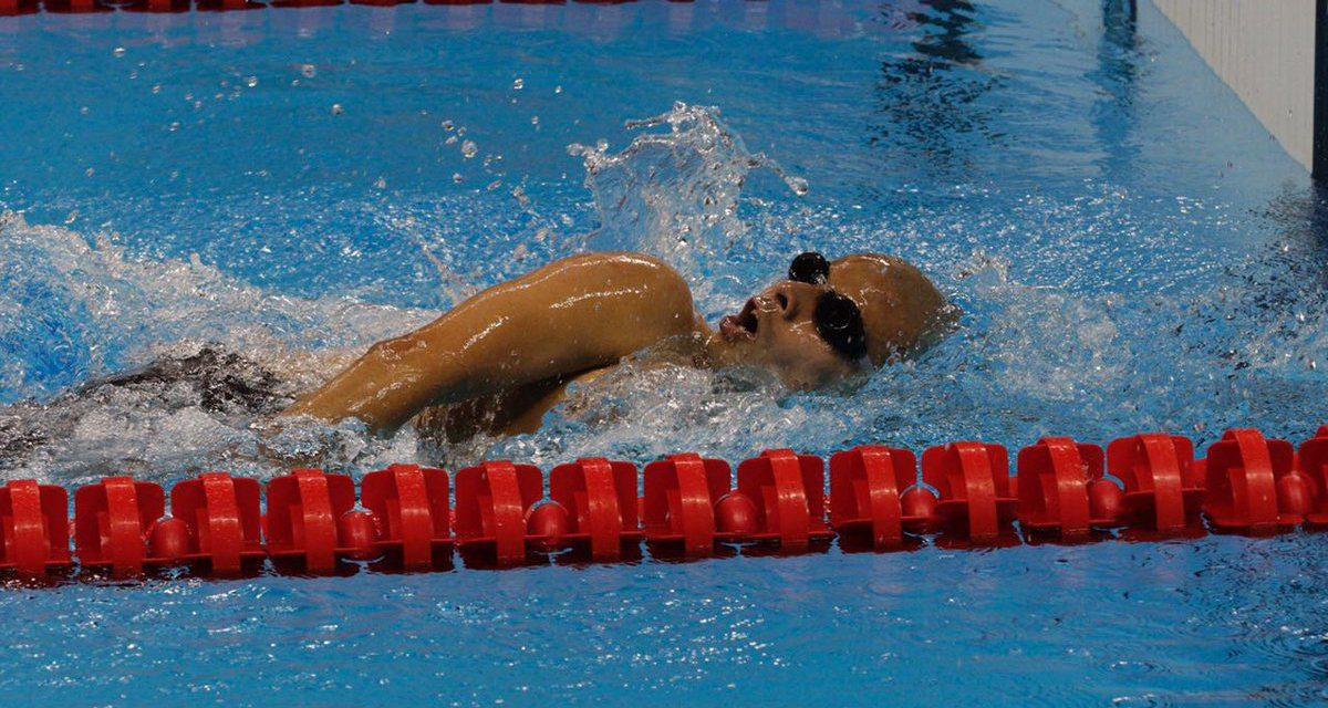 Natación: Diploma Paralímpico para Sergio Zayas