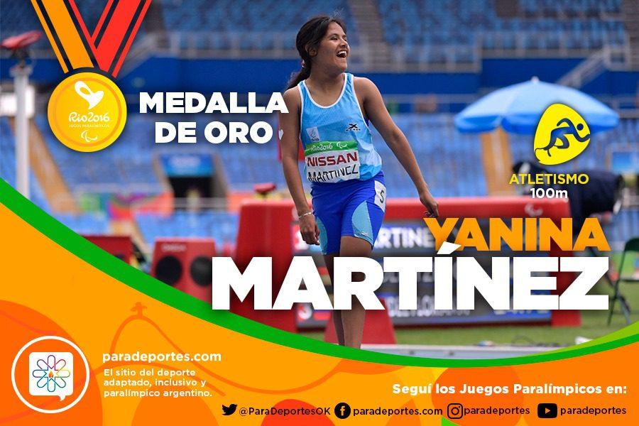 Atletismo: ¡Oro para Yanina Martínez!