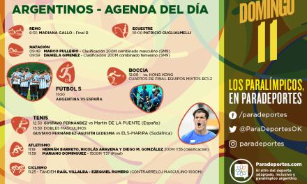 Juegos Paralímpicos Río 2016 – La agenda del domingo 11