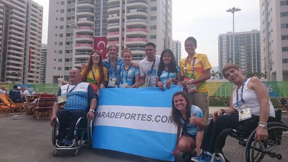 La delegación argentina ya está en la Villa Paralímpica