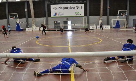 Goalball y una jornada de capacitación en el Instituto Rosell