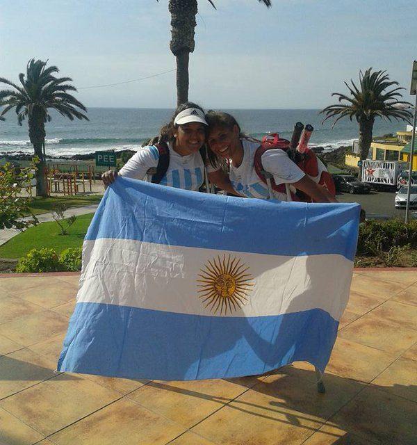 Tenis adaptado: Moreno y Pralong, campeonas del dobles en Chile