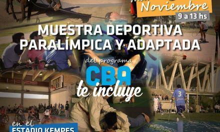Muestra deportiva paralímpica y adaptada en Córdoba