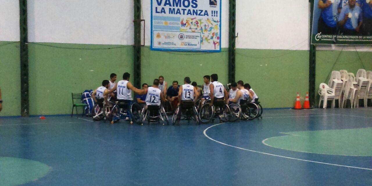 Básquet adaptado: Argentina se quedó con primer duelo ante Uruguay