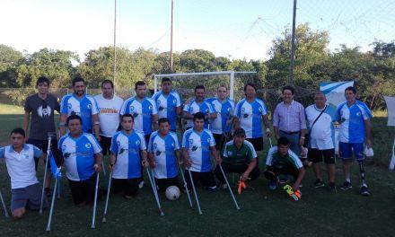 Fútbol para amputados: La Copa Raza Chaco ya tiene a sus semifinalistas