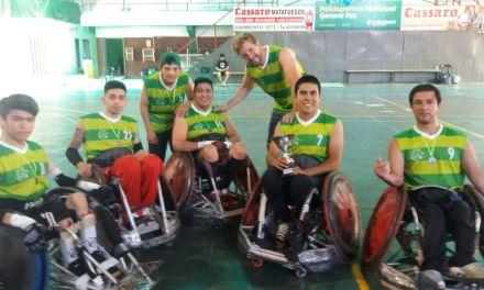 Quad Rugby: Caranchos se quedó con el título en Córdoba