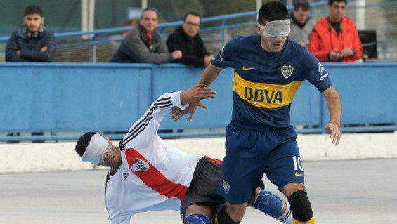 Fútbol para ciegos: Boca y River, protagonistas de las semifinales con transmisión por streaming de Paradeportes