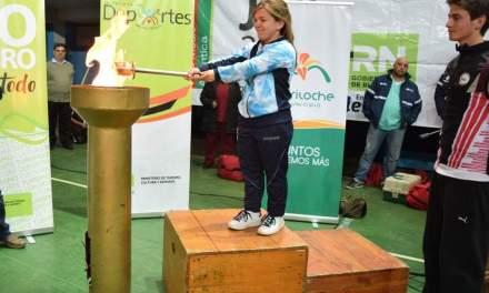 Karina Loyola abrió los Juegos Rionegrinos