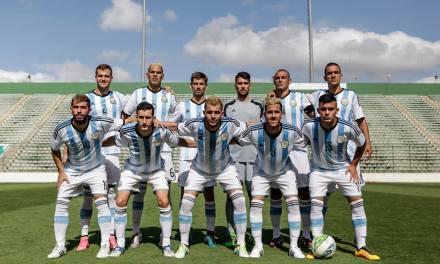 Fútbol para sordos: Argentina goleó a Chile y ahora va por Brasil