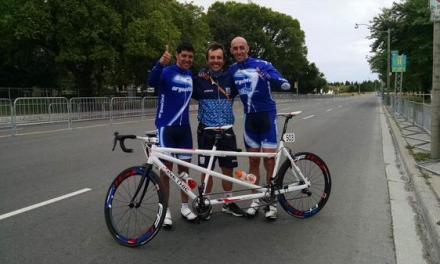Paraciclismo: los representantes paralímpicos, bicampeones nacionales