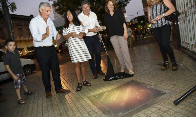 Los atletas paralímpicos rosarinos ya tienen su estrella en la ciudad