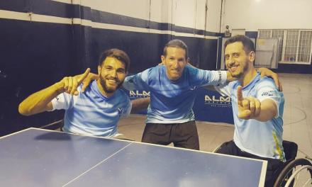 Tenis de mesa: Copola y Depergola, campeones de un torneo convencional