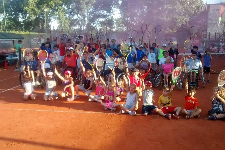 El tenis adaptado argentino cerró el año a pura fiesta