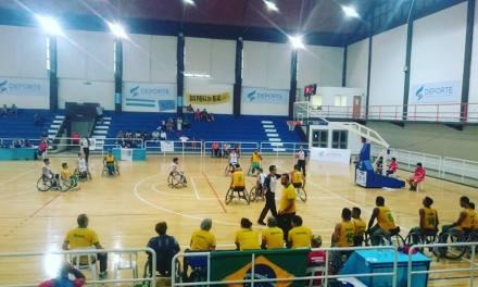 Básquet adaptado: Argentina sufrió la potencia de Brasil