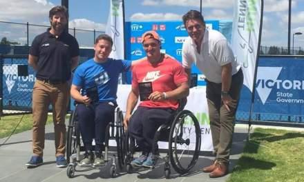 Tenis adaptado: ¡Gustavo Fernández, doble campeón en Melbourne!