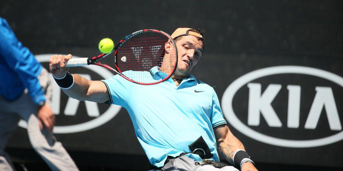 Tenis adaptado: Gustavo Fernández, subcampeón del dobles en el Abierto de Australia
