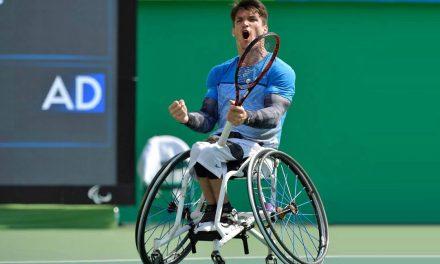 Tenis adaptado: Gustavo Fernández, semifinalista en Sidney