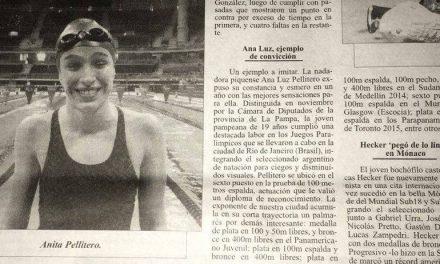 """Anita Pellitero, destacada por su """"ejemplo de convicción"""""""