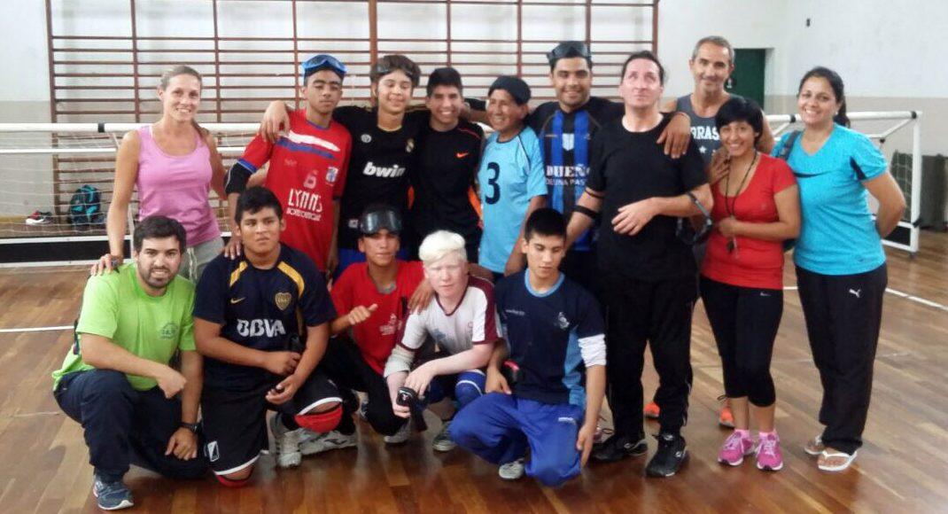 Goalball: Los Topitos juegan, se prueban y ya piensan en São Paulo