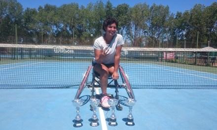 Tenis adaptado: Antonella Pralong es la nueva número uno argentina