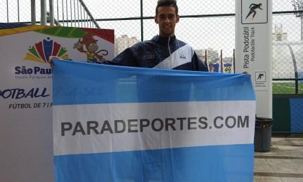 Duncan Coronel, el abanderado argentino en San Pablo