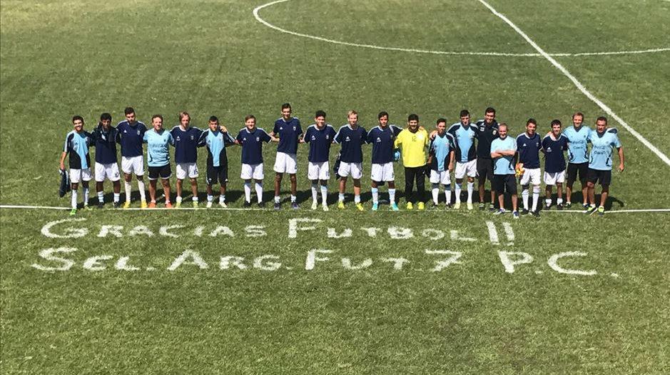 Fútbol 7: Los Tigres se concentrarán en La Plata
